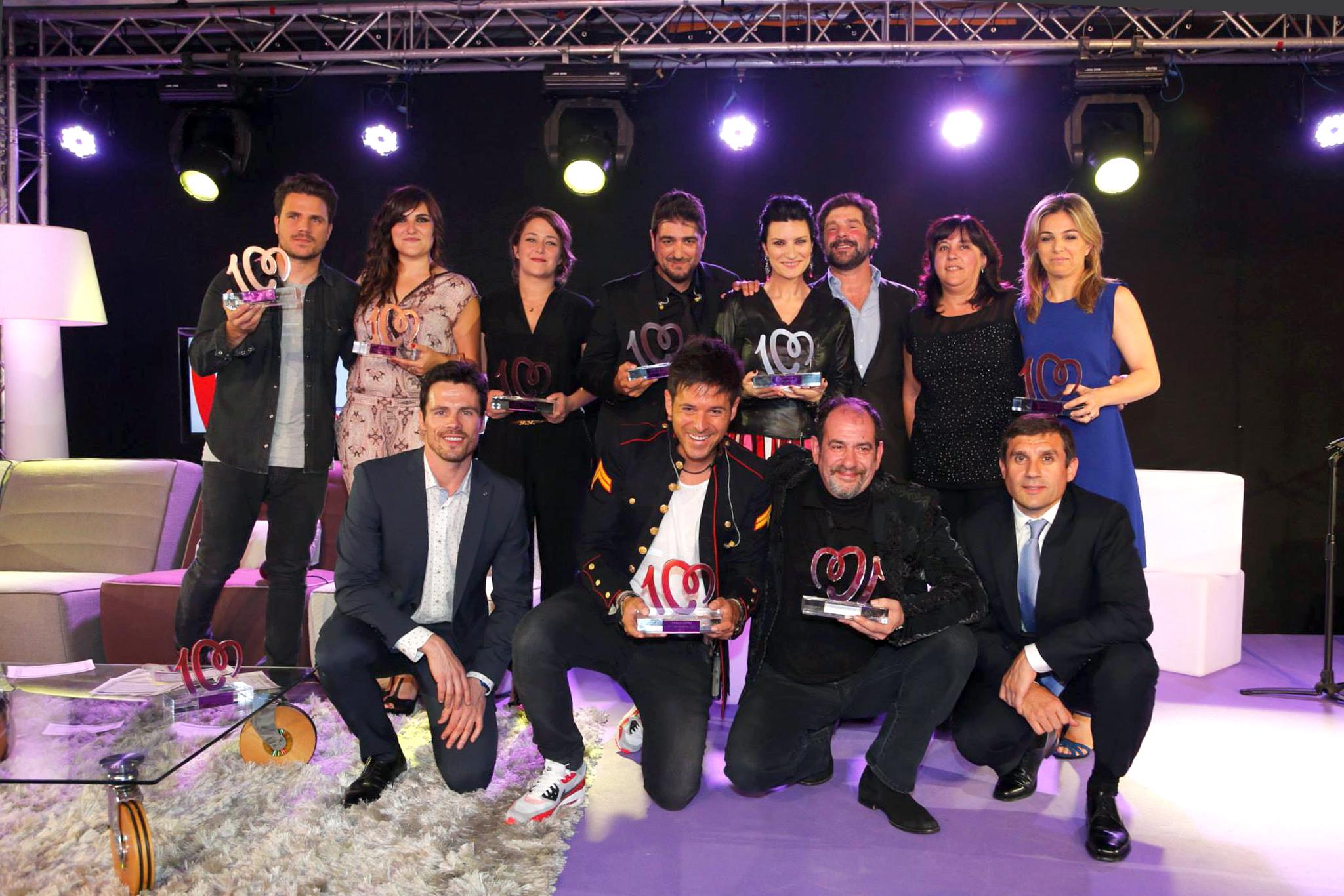Premios numeros 1 cadena 100