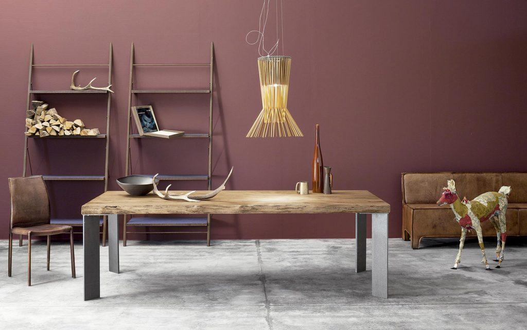 Mesa madera maciza