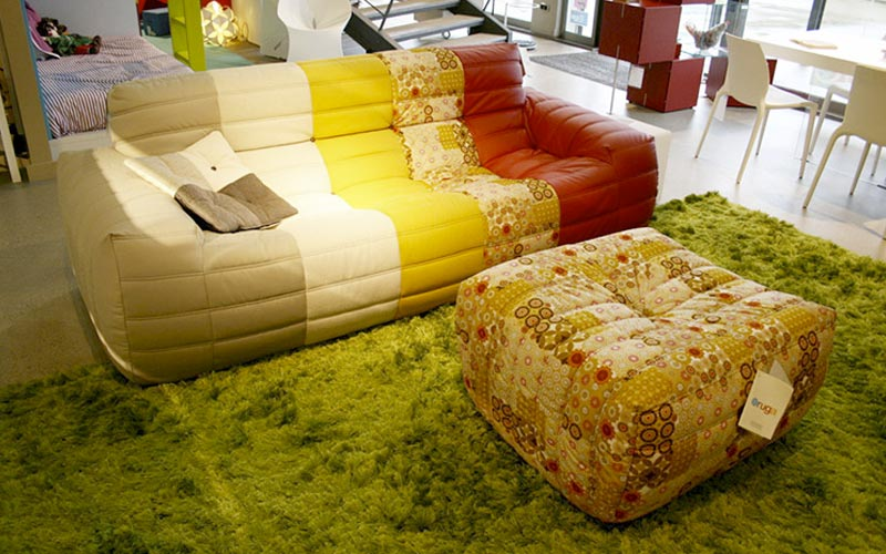 Sofa Oruga estampat