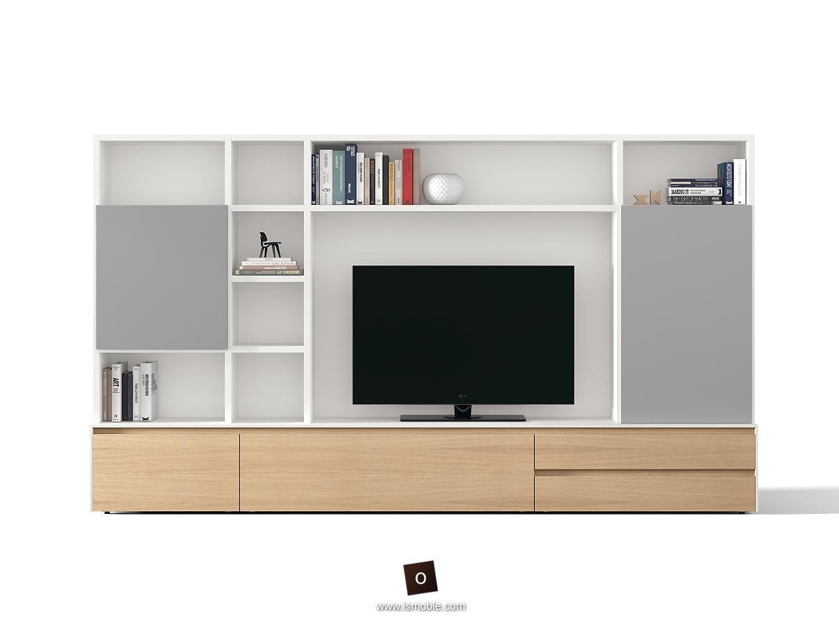 Mueble de comedor modular con madera cer mica o laca de for Mueble modular para comedor